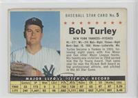 Bob Turley (Perforated) [GoodtoVG‑EX]