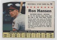 Ron Hansen (Hand Cut) [PoortoFair]