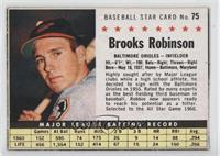 Brooks Robinson (Hand Cut) [Noted]