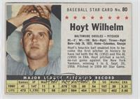 Hoyt Wilhelm (Hand Cut) [Noted]