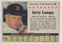 Jerry Lumpe (Hand Cut)