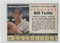 Bill Tuttle (Hand Cut) [Poor]