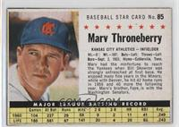Marv Throneberry (Hand Cut) [Noted]