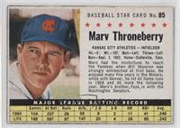 Marv Throneberry (Hand Cut)