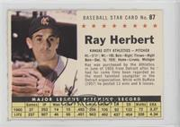 Ray Herbert (Perforated)