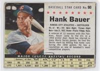Hank Bauer (Hand Cut) [Poor]