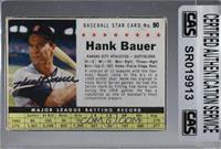 Hank Bauer (Hand Cut) [CASCertifiedSealed]