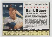 Hank Bauer (Hand Cut) [Noted]