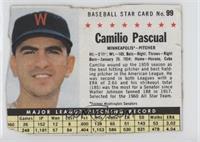 Camilo Pascual (Hand Cut, Minneapolis) [Poor]