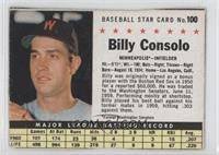 Billy Consolo (hand cut)