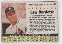Lew Burdette (Hand Cut) [Authentic]