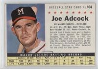 Joe Adcock (Perforated)
