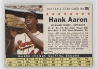 Hank Aaron (Perforated)