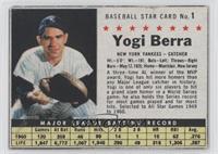 Yogi Berra (Hand Cut)