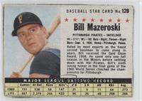 Bill Mazeroski (Hand Cut) [Authentic]