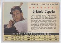 Orlando Cepeda (Perforated)
