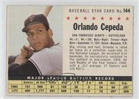 Orlando Cepeda (Perforated)