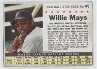 Willie Mays (Hand Cut)