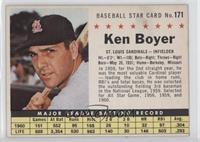 Ken Boyer (hand cut)