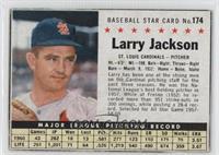Larry Jackson (Hand Cut)