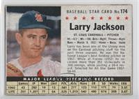 Larry Jackson (Hand Cut) [Good to VG‑EX]