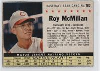 Roy McMillan (hand cut) [GoodtoVG‑EX]