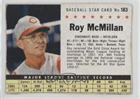 Roy McMillan (hand cut)
