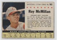 Roy McMillan (hand cut) [Poor]