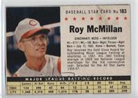 Roy McMillan (hand cut) [Good to VG‑EX]