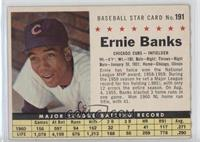 Ernie Banks (Perforated) [Good to VG‑EX]