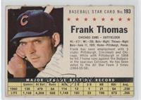 Frank Thomas (Perforated) [Good to VG‑EX]