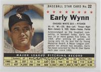 Early Wynn (Hand Cut) [Authentic]