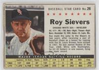 Roy Sievers (Hand Cut) [Authentic]