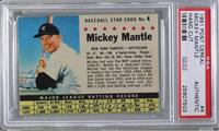 Mickey Mantle (Hand Cut) [PSA AUTHENTIC]