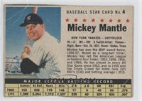 Mickey Mantle (Hand Cut) [Poor to Fair]