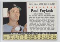 Paul Foytack (Perforated)