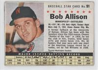 Bob Allison (Hand Cut, Minneapolis)