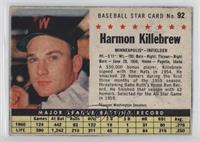 Harmon Killebrew (Hand Cut, Minneapolis) [GoodtoVG‑EX]