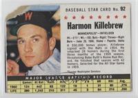 Harmon Killebrew (Hand Cut, Minneapolis) [Poor]