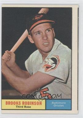 1961 Topps - [Base] #10 - Brooks Robinson