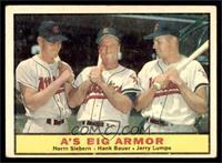 A's Big Armor (Norm Siebern, Hank Bauer, Jerry Lumpe) [VG]