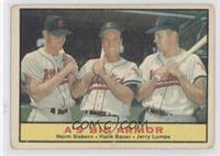 A's Big Armor (Norm Siebern, Hank Bauer, Jerry Lumpe) [GoodtoVG&#82…