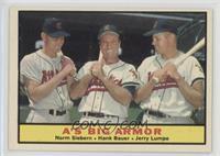 Norm Siebern, Hank Bauer, Jerry Lumpe