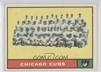 Chicago Cubs Team [Noted]