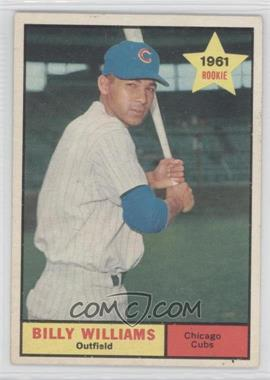 1961 Topps - [Base] #141 - Billy Williams