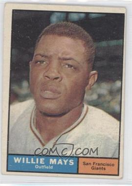 1961 Topps - [Base] #150 - Willie Mays [GoodtoVG‑EX]
