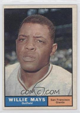 1961 Topps - [Base] #150 - Willie Mays