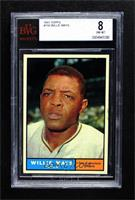 Willie Mays [BVG 8 NM‑MT]