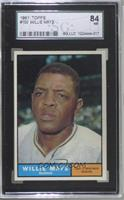 Willie Mays [SGC 84 NM 7]