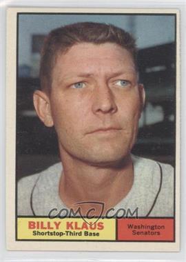 1961 Topps - [Base] #187 - Billy Klaus